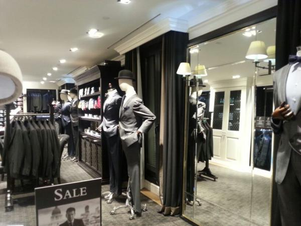 Espejo en tienda Barcelona