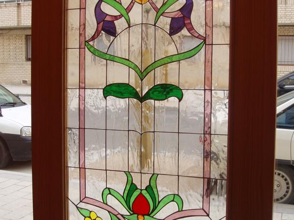 Cristales de colores para puertas modelo plana estilo - Cristales de colores para puertas ...